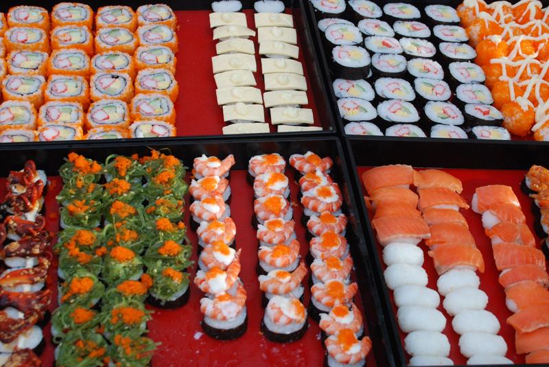 Japan lässt Grüßen – Sushi-Variationen